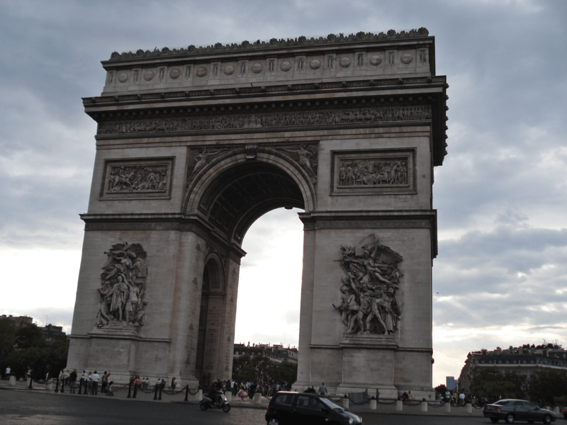 Arcul de Triumf, Paris