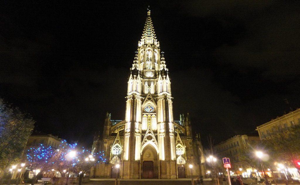 Obiective turistice San Sebastian - Catedrala Buen Pastor