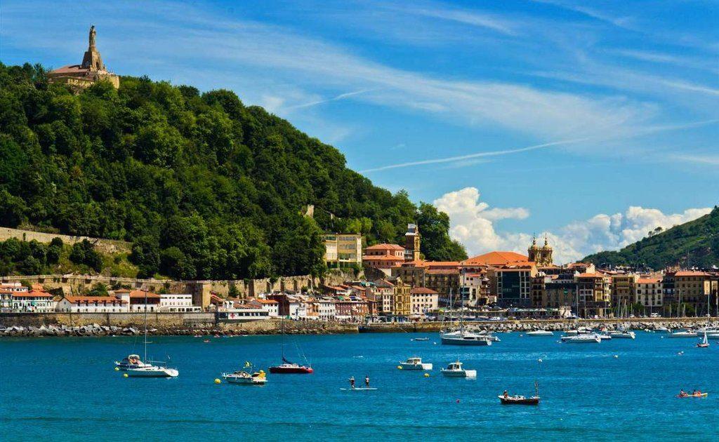 Obiective turistice San Sebastian - Muntele Urgull