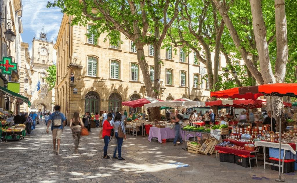 Obiective turistice Provence - Aix en Provence