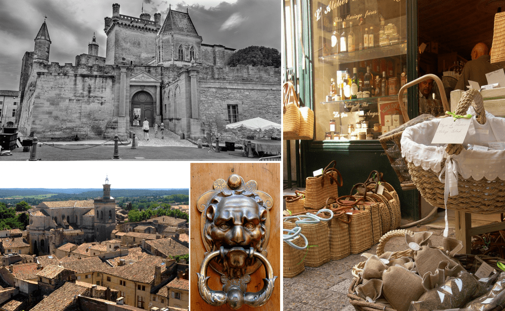 Obiective turistice Provence - Uzes