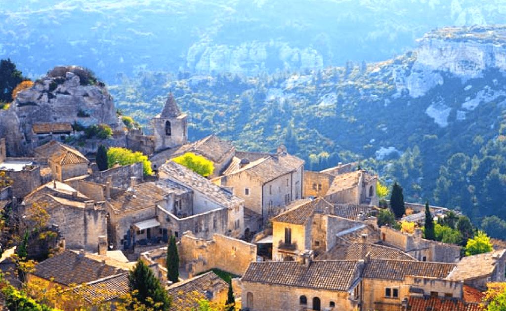 Obiective turistice Provence - Les Baux de Provence