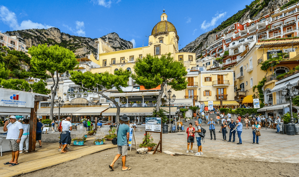Atractii turistice Coasta Amalfi - Positano
