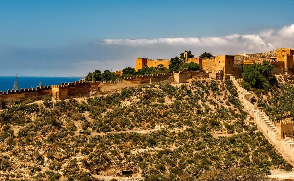 Obiective turistice Malaga - Alcazaba de Malaga