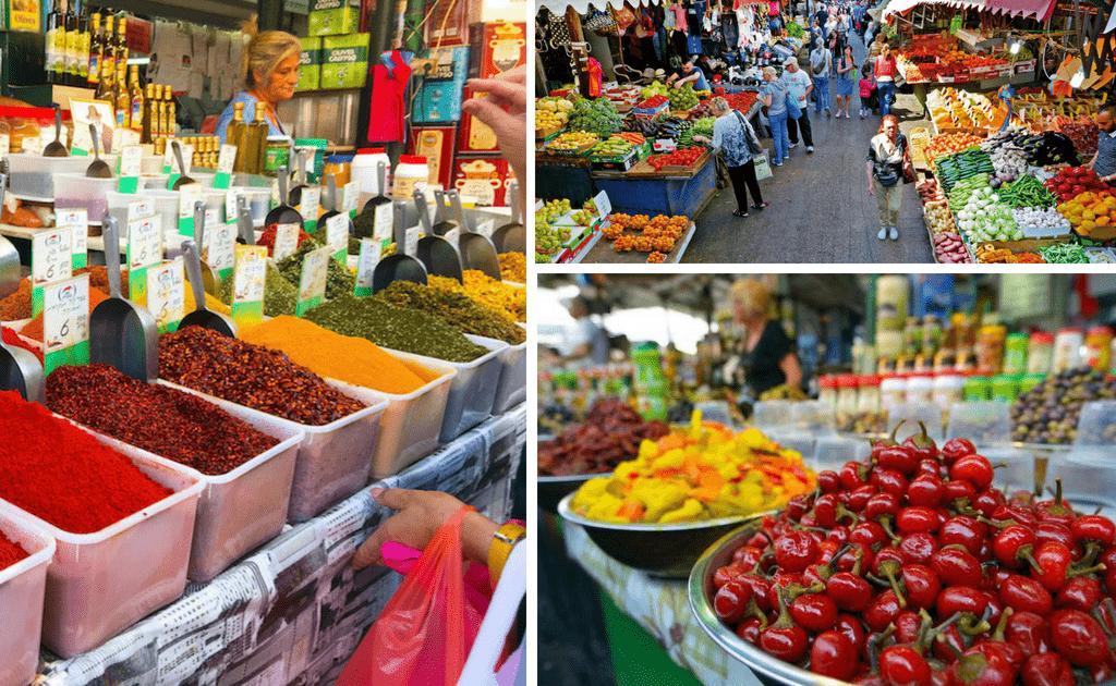Tel Aviv - obiective turistice, Piata Carmel