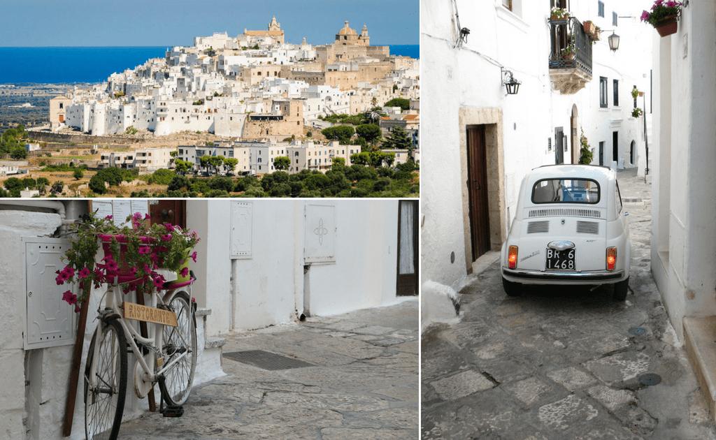 Obiective turistice Puglia - Ostuni