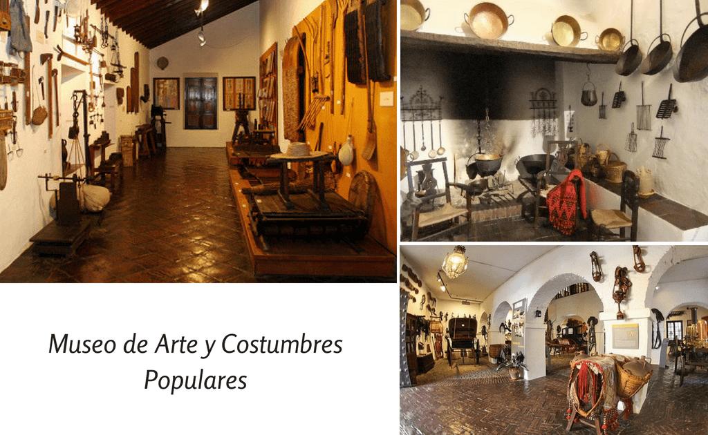 Obiective turistice Malaga - Museo de Artes y Costumbres Populares