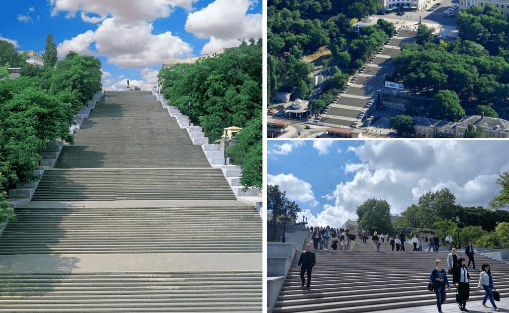 Obiective turistice Odessa - Scarile Potemkin