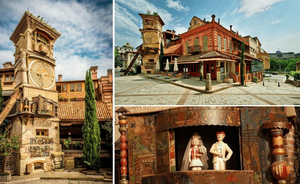 Obiective turistice Tbilisi - Turnul cu Ceas
