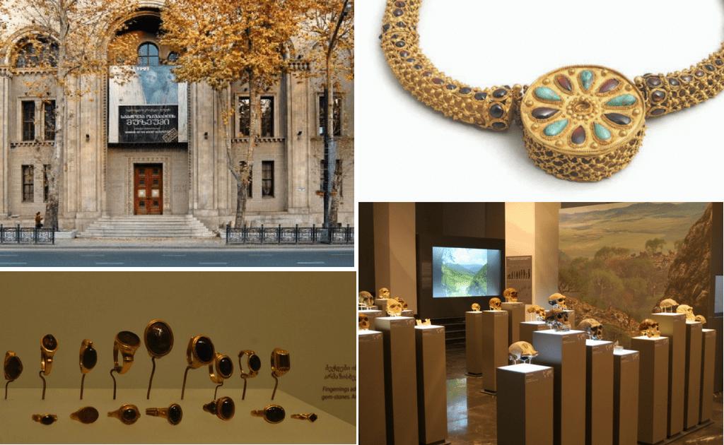Obiective turistice Tbilisi - Muzeul National de Istorie