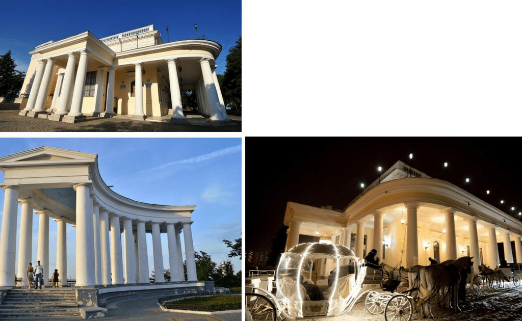 Obiective turistice Odessa - Palatul Vorontsov