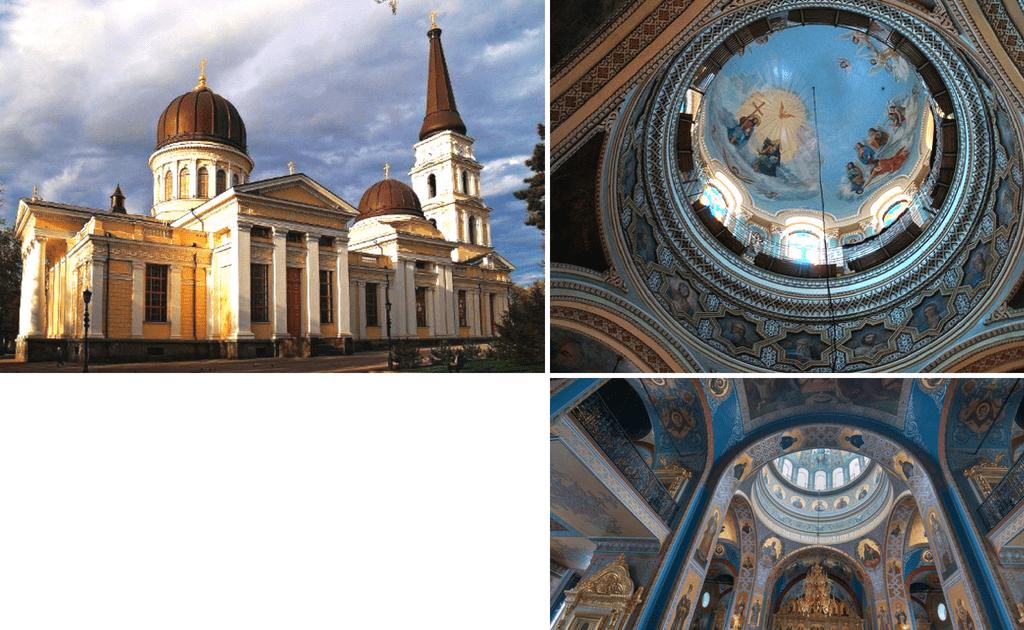 Obiective turistice Odessa - Catedrala Schimbarea la Fata