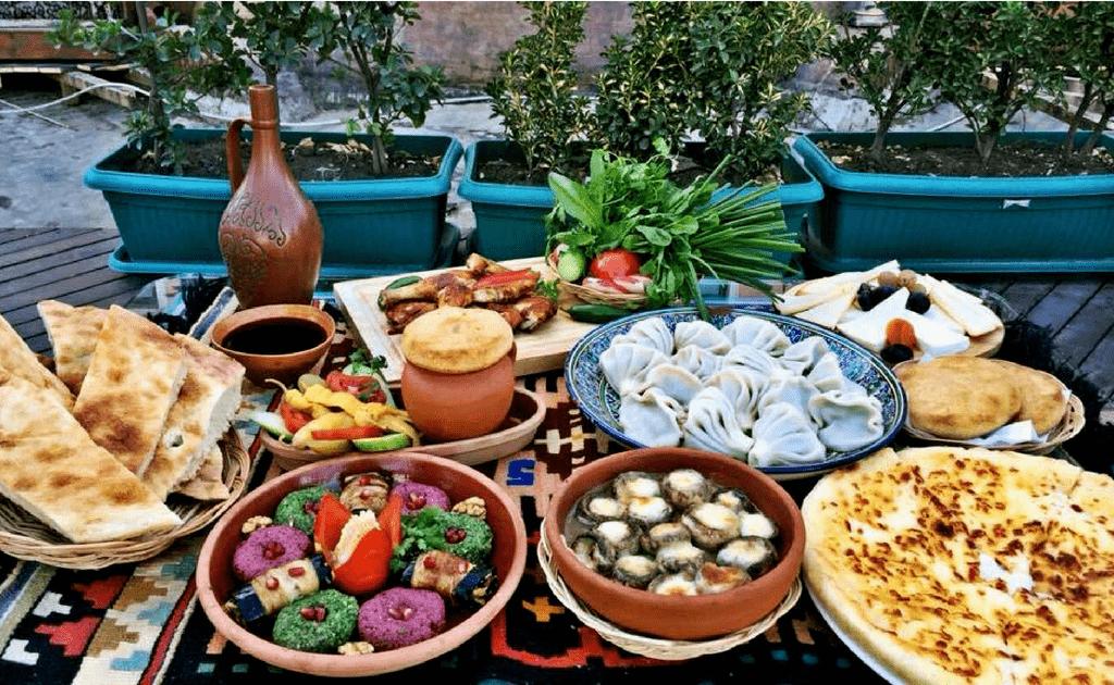 Obiective turistice Tbilisi - Gastronomia