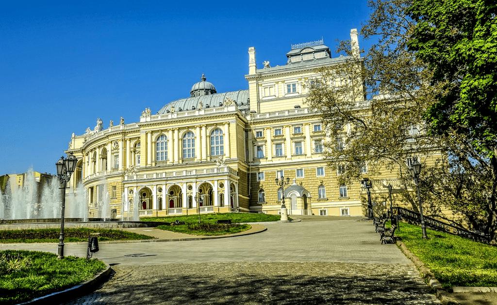 Obiective turistice Odessa - Muzeul de Arta Occidentala si Orientala