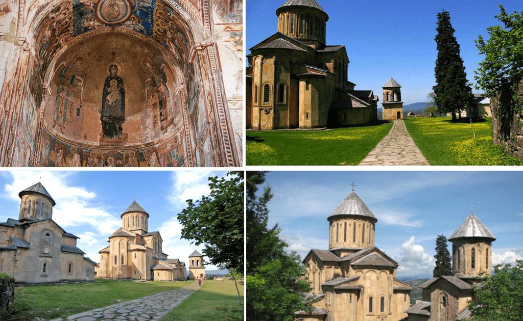 Obiective turistice Kutaisi - Manastirea Gelati