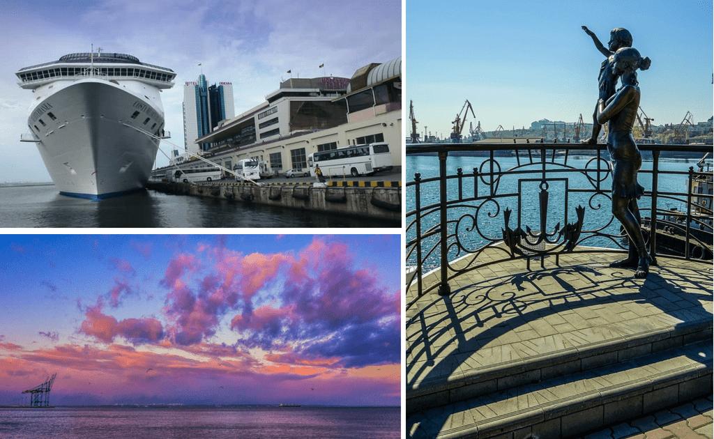 Obiective turistice Odessa - Portul din Odessa