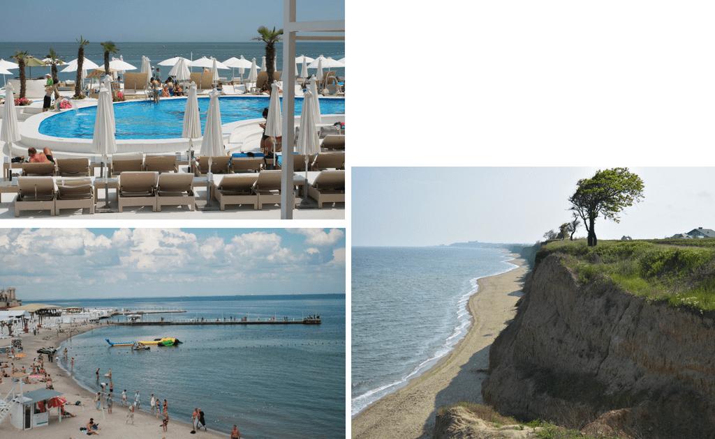 Obiective turistice Odessa - Plajele