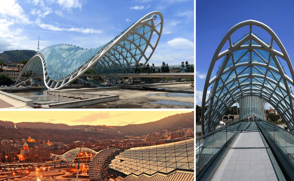 Obiective turistice Tbilisi - Podul Pacii