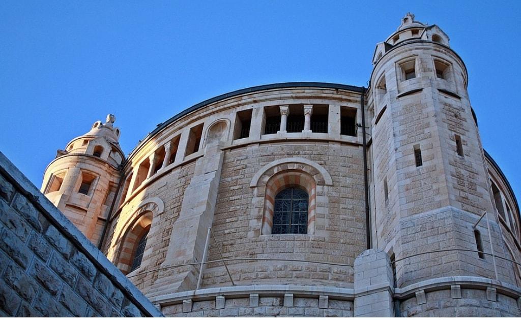 Manastirea Adormirii, Mormantul regelui David