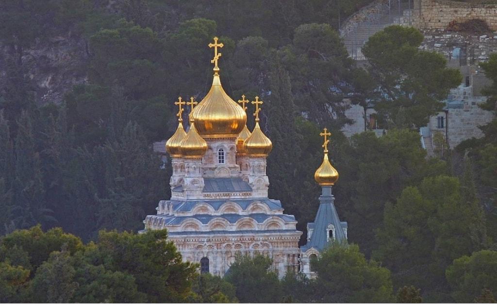 Obiective turistice Ierusalim - Muntele Maslinilor