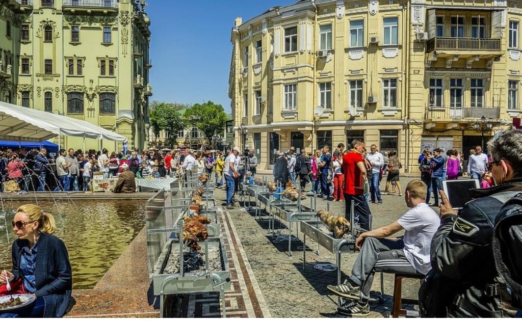 Obiective turistice Odessa