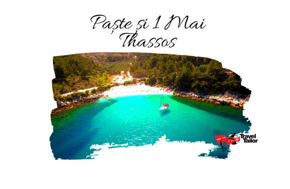 EARLY BOOKING: PASTE si 1 MAI 2021 in THASSOS