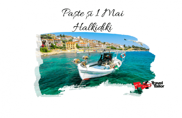 EARLY BOOKING: PASTE si 1 MAI 2021 in HALKIDIKI
