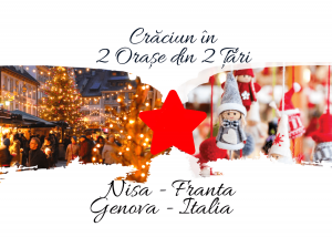 Craciun si Revelion in 2 Țări: NISA (Franta) & GENOVA (Italia), 2020 – 2021