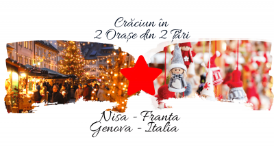 Craciun in 2 Țări: NISA (Franta) & GENOVA (Italia)
