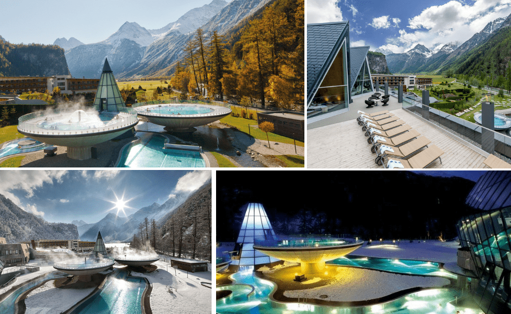 Statiuni balneare Europa - Aqua Dome Tirol, Austria