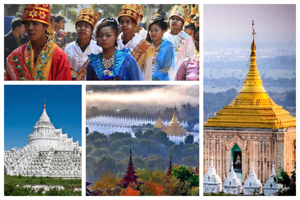 Mandalay este ultima capitală a fostului regat al Birmaniei si unul dintre cele mai mari orașe din Myanmar, considerat un centru cultural și spiritual.