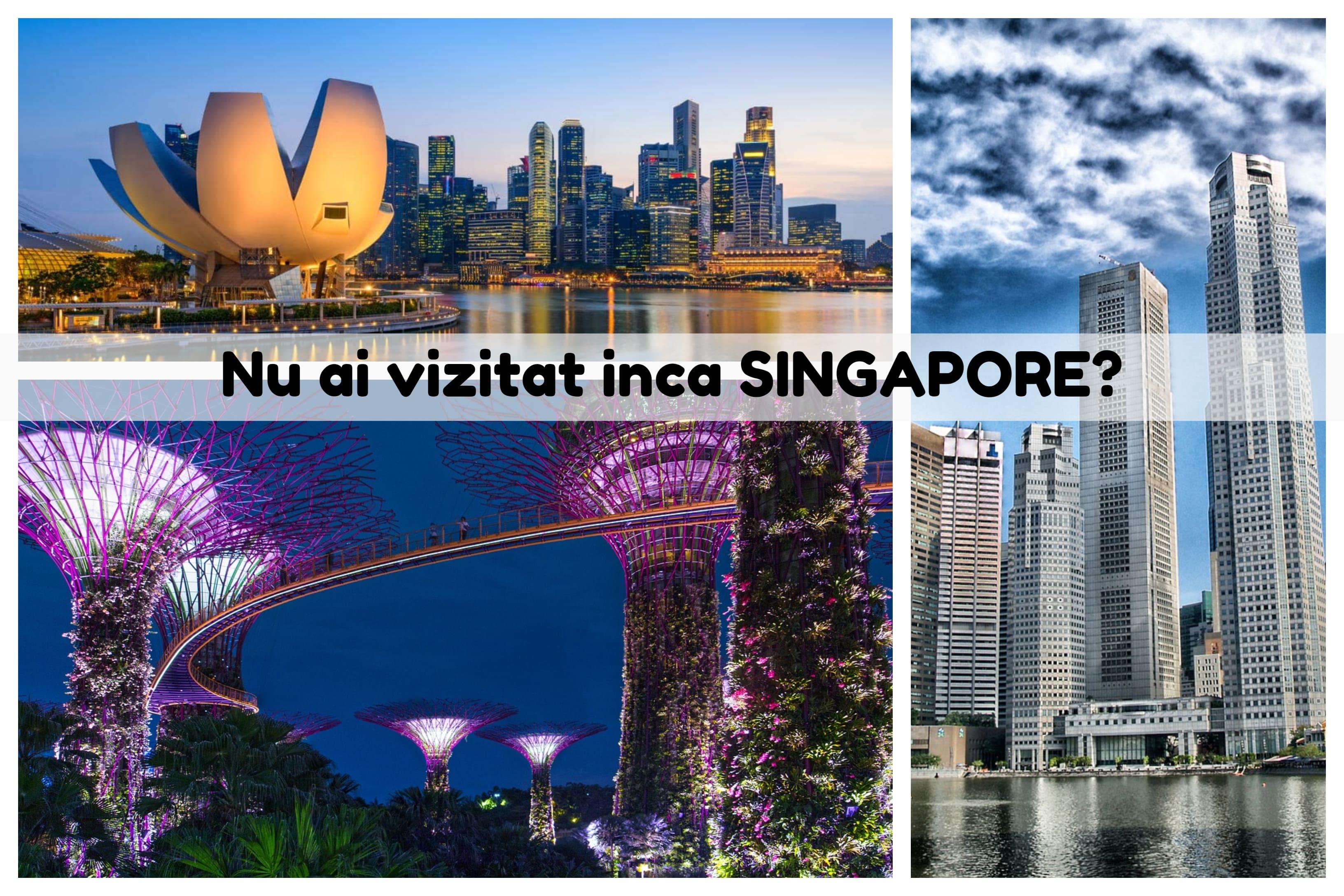 Imagini din Singapore - zbor cu KLM