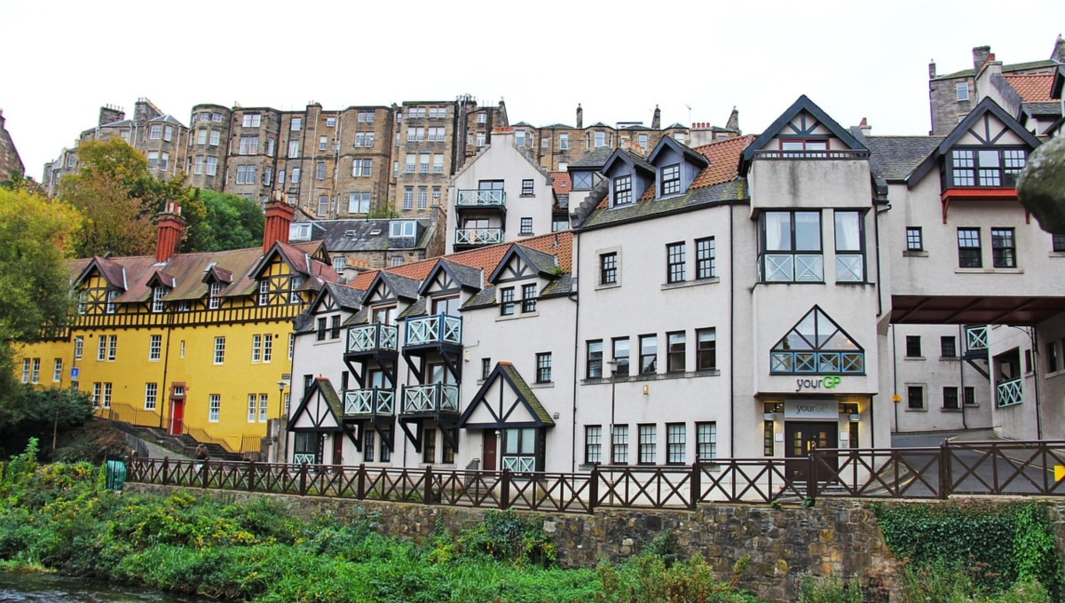 Dean Village - loc rezidential din Edinburgh