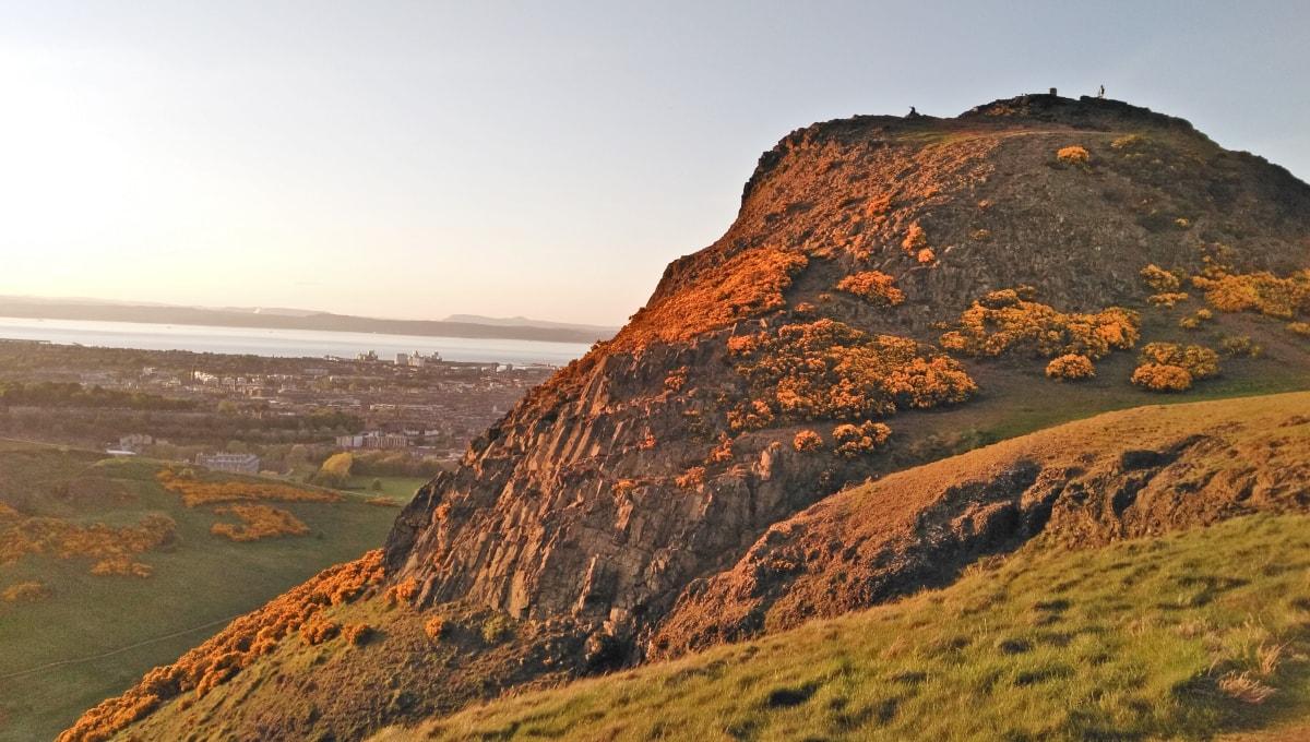 Scaunul lui Artur din Edinburgh - vulcanul stins