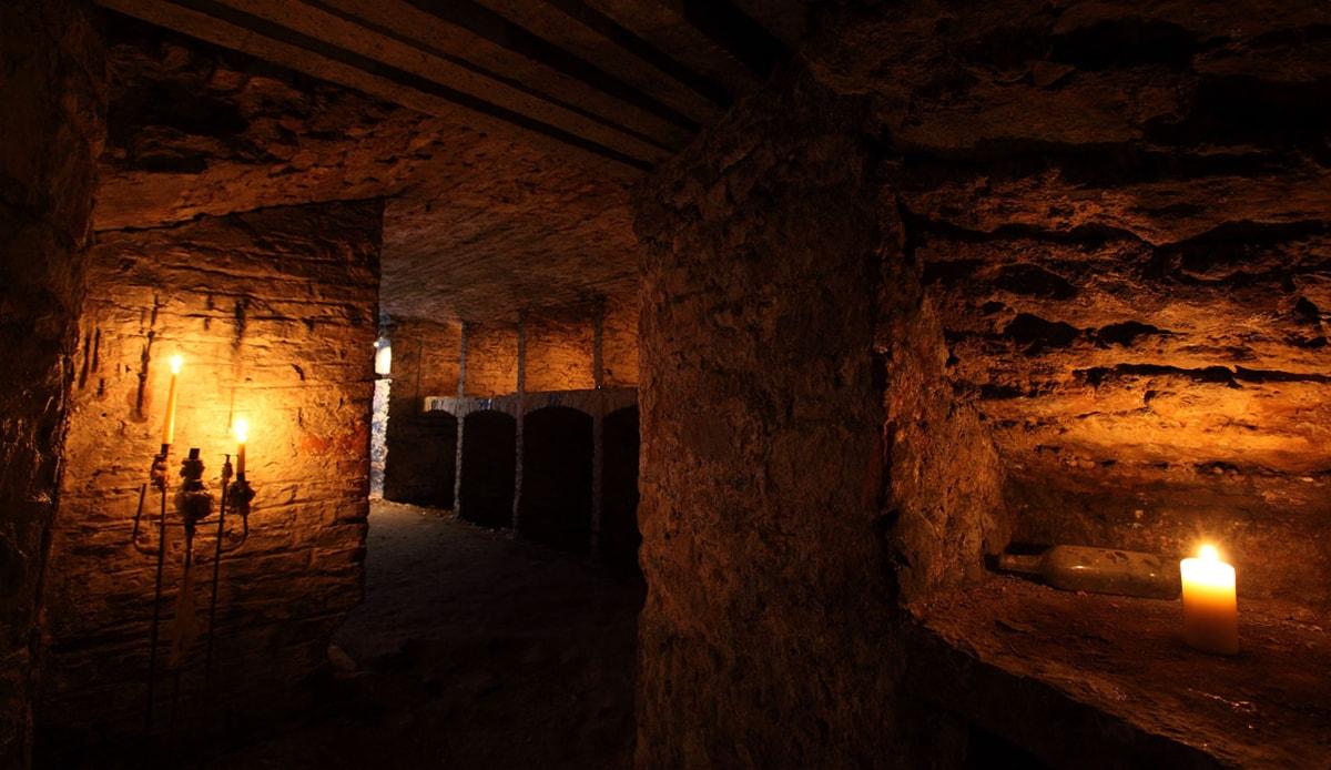 Tunelurile bantuite din Edinburgh