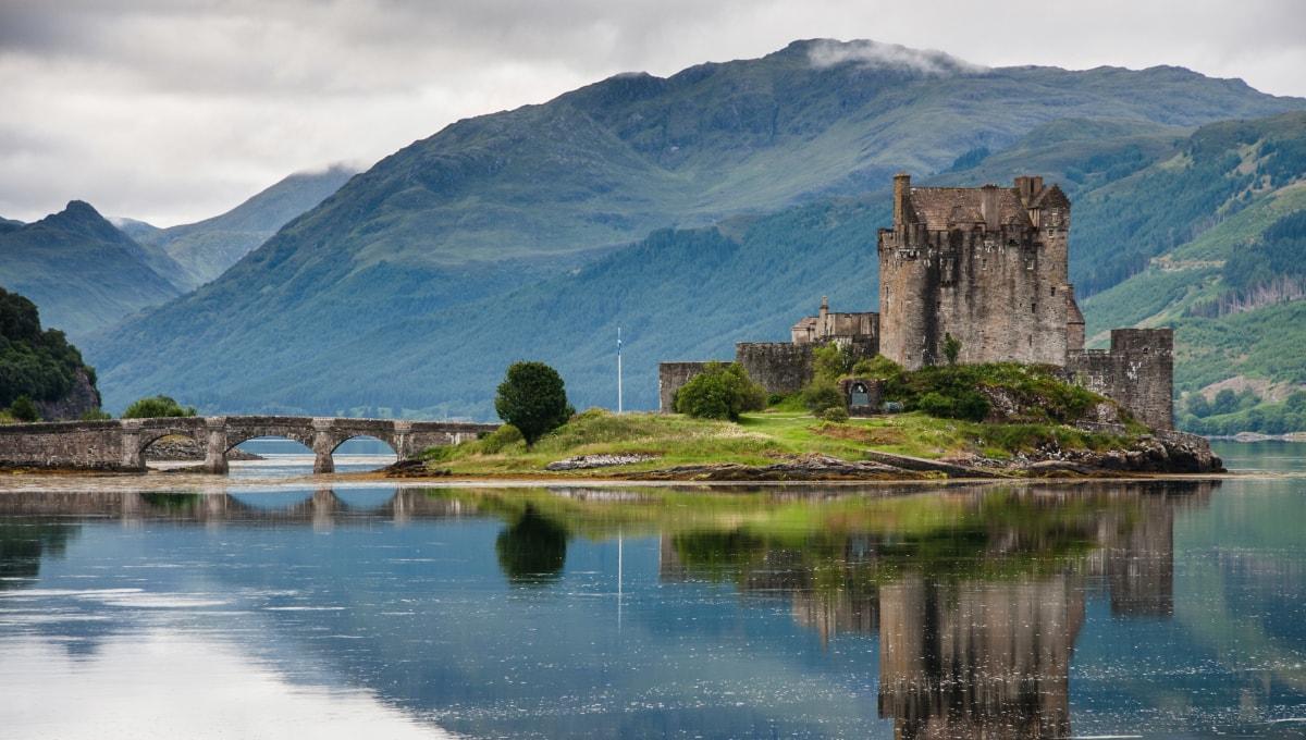 Castel scotian in Edinburgh