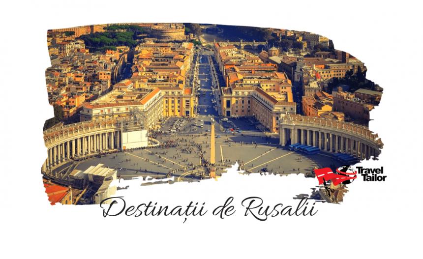 7 destinatii accesibile pentru vacanta de Rusalii