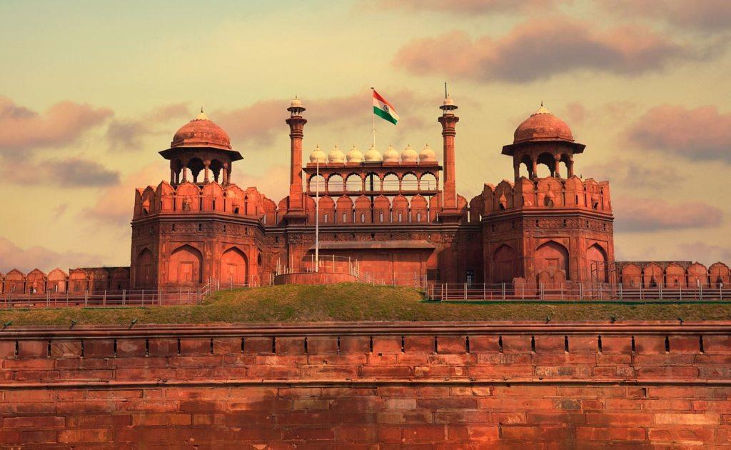 Obiective turistice India - Fortareata Rosie
