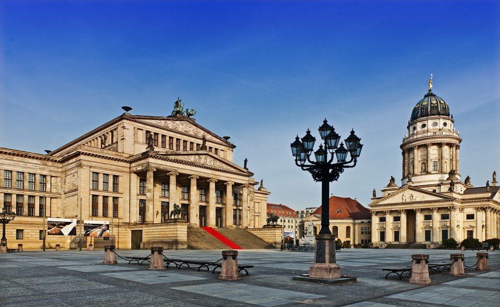 Obiective turistice Berlin - Gendarmenmarkt