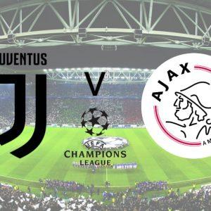 Champions League: JUVENTUS TORINO – AJAX AMSTERDAM