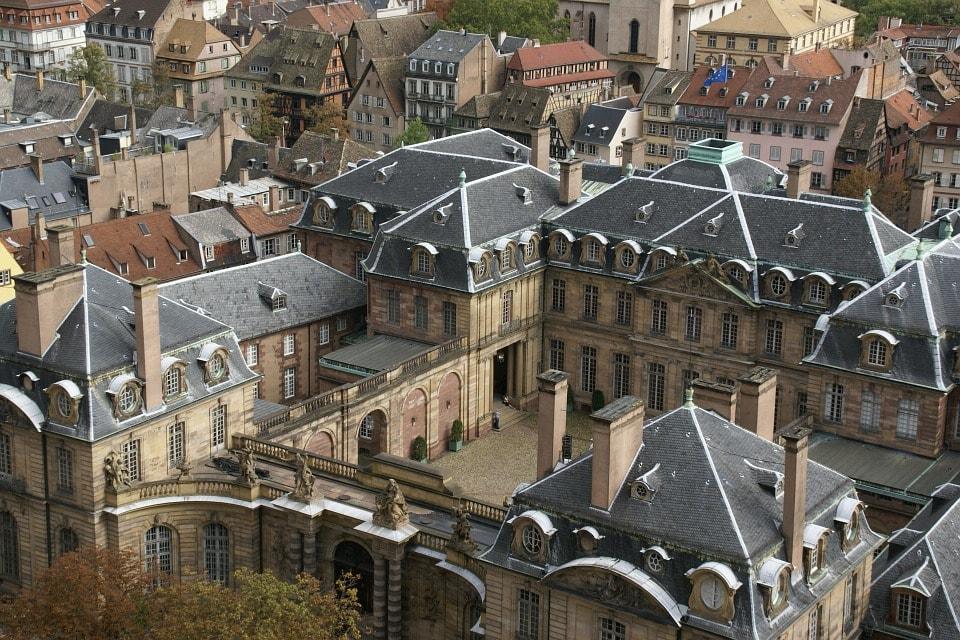 Castelul Rohan - obiective turistice Strasbourg