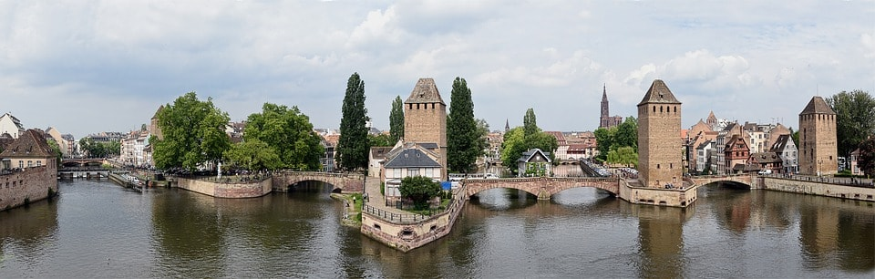 Pont Couverts - obiective turistice Strasbourg