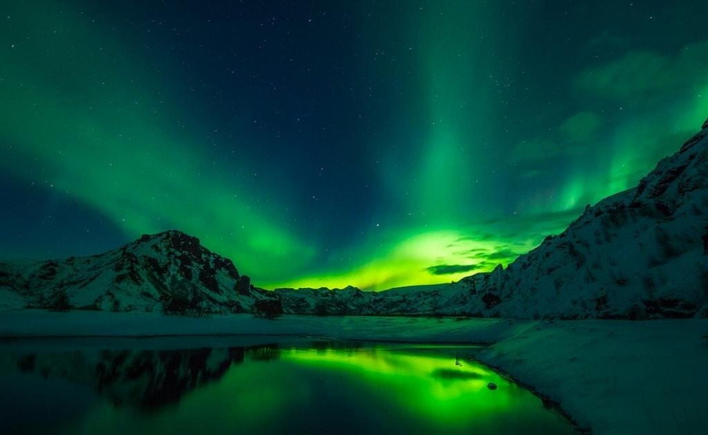 Obiective turistice Islanda - Aurora Boreala
