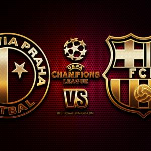 Champions League: Slavia Praga – FC Barcelona