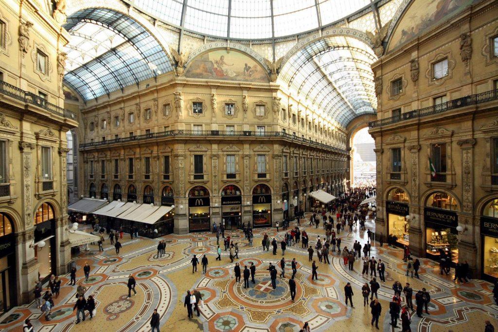 obiective turistice milano - galleria milano