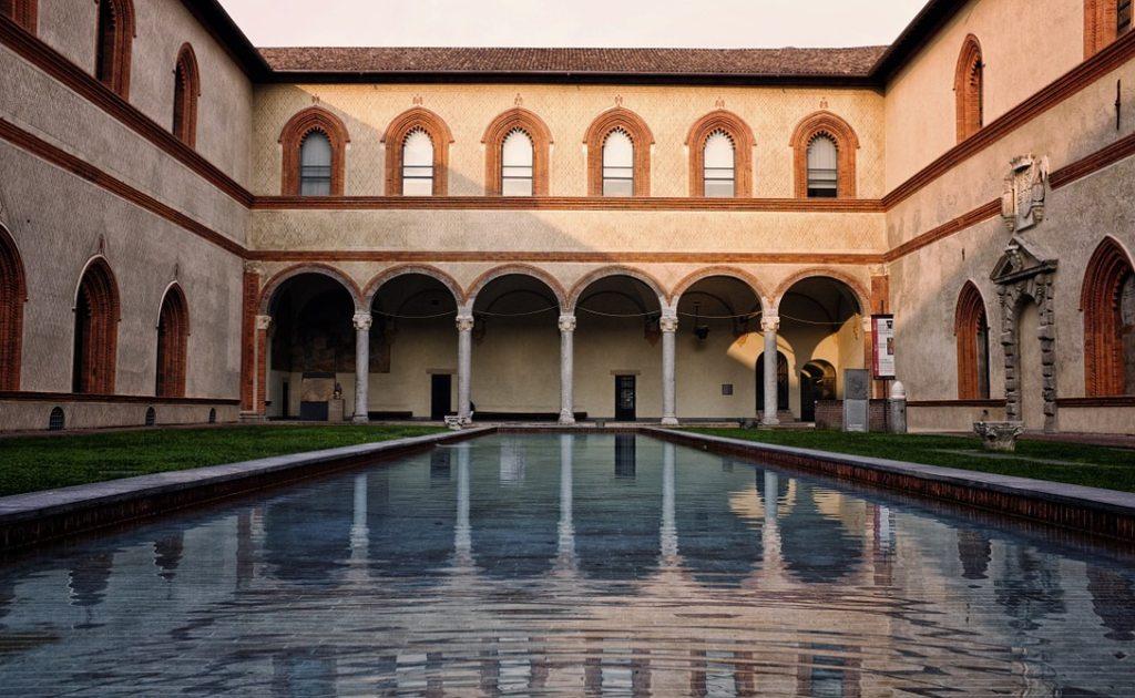 7 obiective turistice Milano- Sforzesco