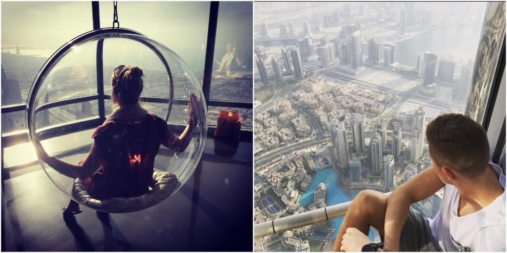Burj Khalifa - panorama