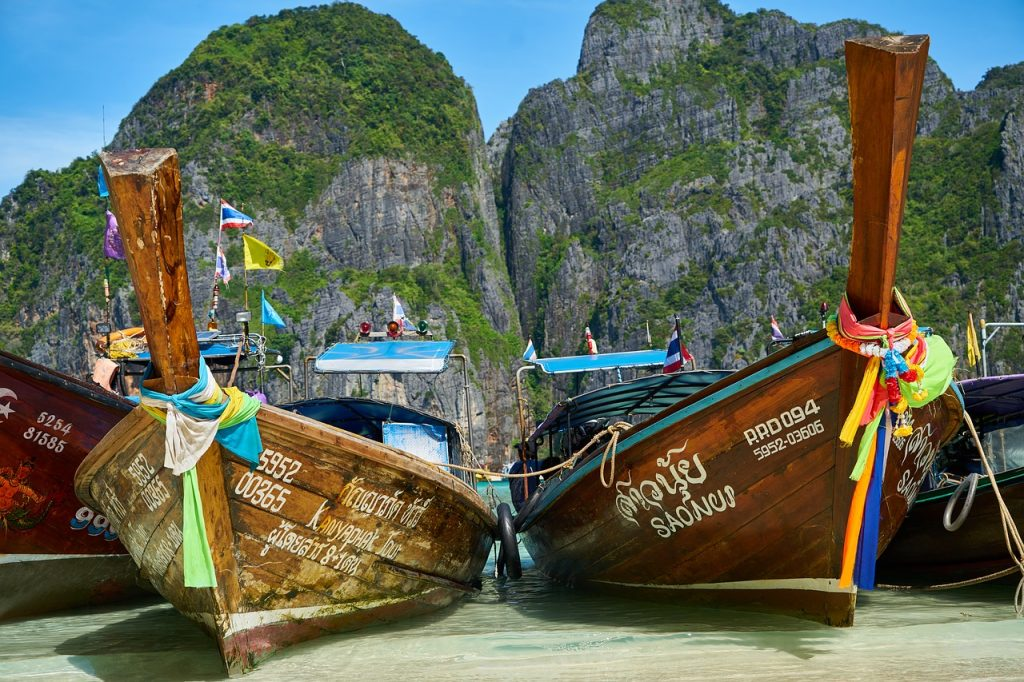 Krabi, Thailanda 2017