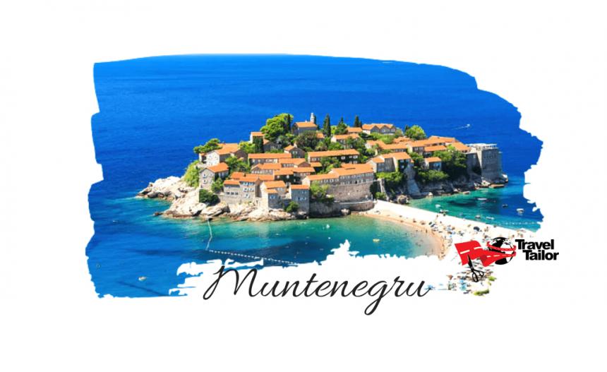 La plaja in Muntenegru