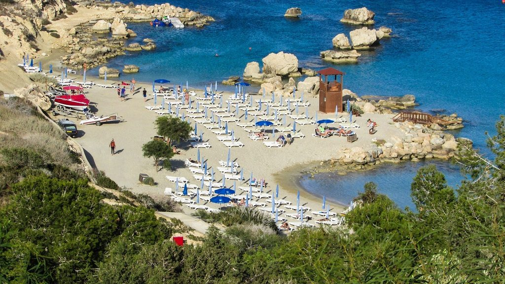 Cipru - vedere de la plaja